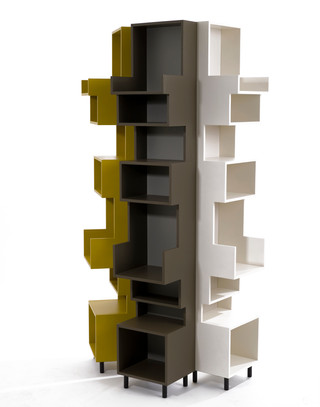 Cut out bookcase for Gaga & Design