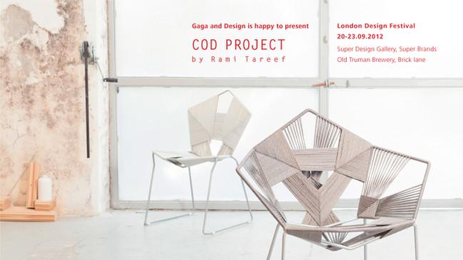 COD Project by Rami Tareef | London Design Week, Super Design Gallery