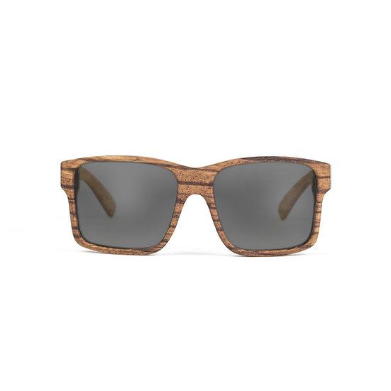 Lesena očala FJ-PRODUKT OverS Sun Zebrano Front