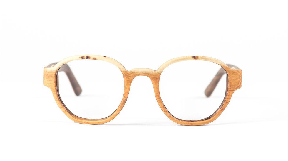 Lesena očala FJ-PRODUKT Oval Retro Front
