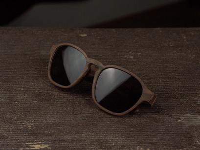 Lesena sončna očala FJ-PRODUKT Nostalgik iz Ameriškega oreha
