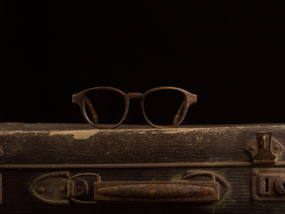 Lesena očala FJ-PRODUKT Vintage Round. Unisex lesena očala izdelana posebej za vas!