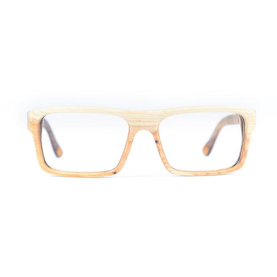 Lesena očala Business optics  Tisa - Lesena očala FJ PRODUK front