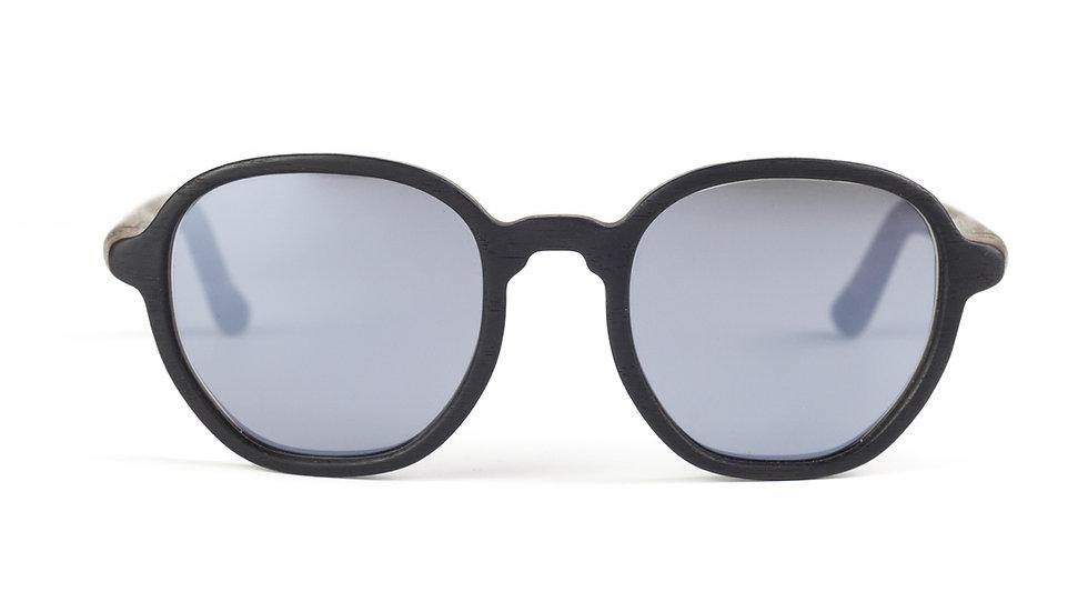 Lesena očala FJ-PRODUKT Oval Retro Sun Front