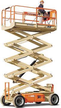 Coleman Equipment Rentals- Scissor Lifts- M3369LE
