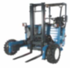 Coleman Equipment Rentals PiggyBack Forklifts
