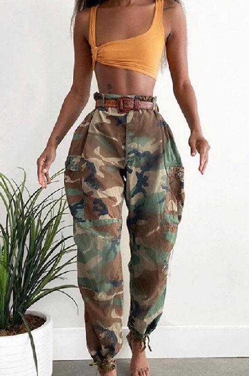 Camo Army Pants 9709