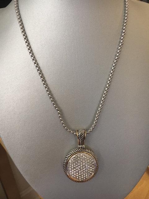 yurman style necklace