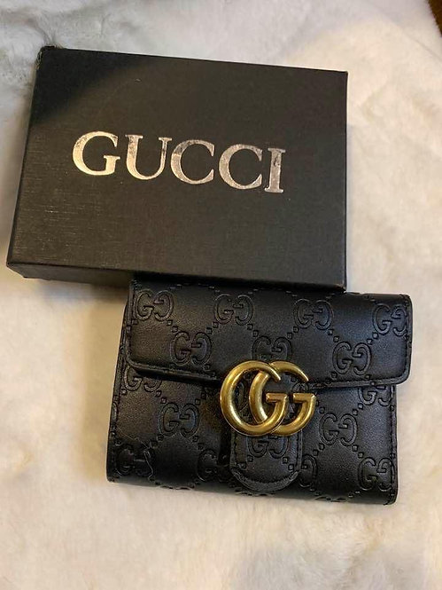 Black GG wallet and box
