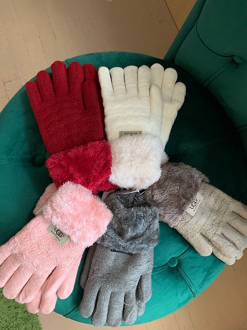 Inspired Fleece gloves