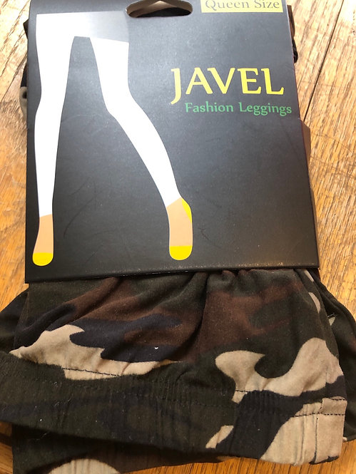 Javel Camouflage Print Leggings