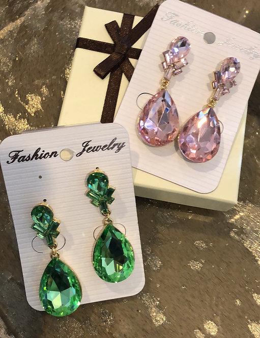Large Stone earrings