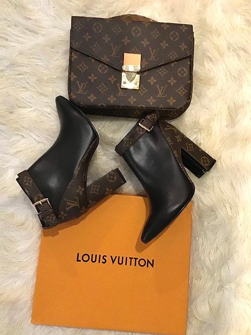 LV Inspired Short Boot