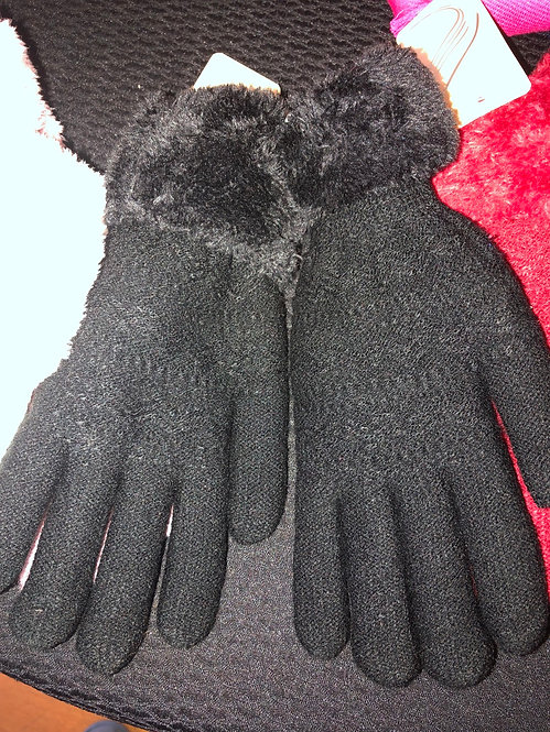 New Warm fleece lined gloves
