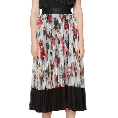Gracia gracia  pleated skirt