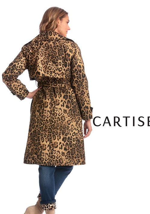 New exclusive Cartise printed trench jacket 920807