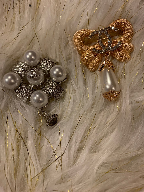 New style brooch 004 silver