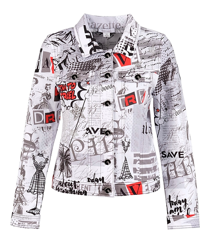 Newspaper jacket Style # 20168 -