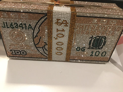 Bling money purse