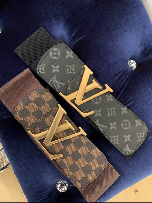 Inspired Lv stretch belt