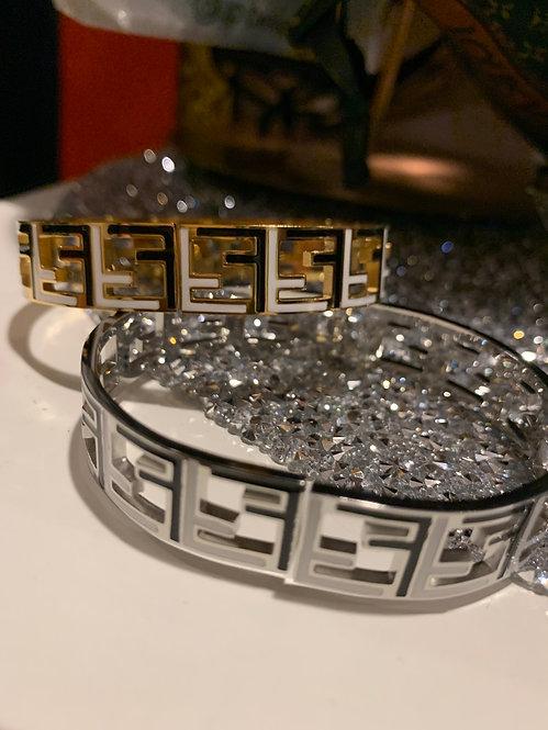 Inspired Fendi bracelet