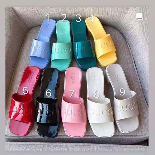 GG Rubber Mules