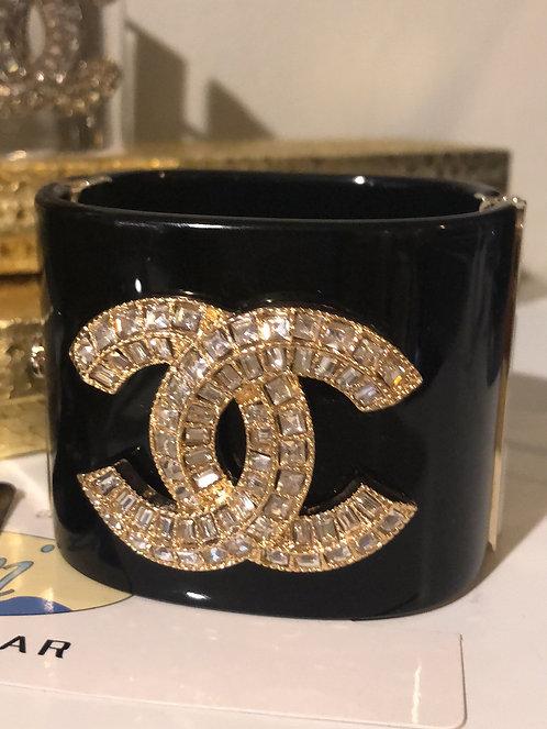 Fashion large Chanel cuff bracelet