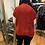 Thumbnail: Red fringe Love sweater