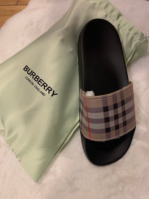 High-quality inspired Burberry sandals