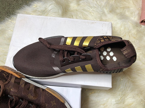 Brown Addidas special edition #22 men size only