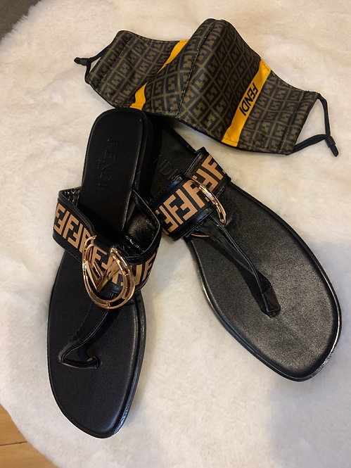 FF sandals