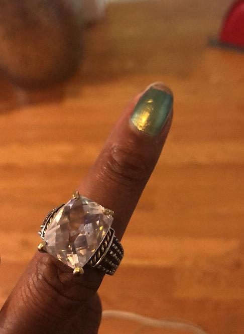 large stone  yurnan inspired ring