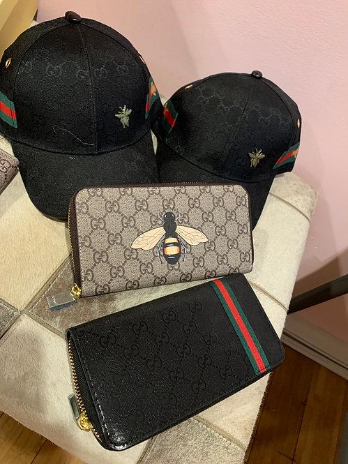 GG wallet zipper