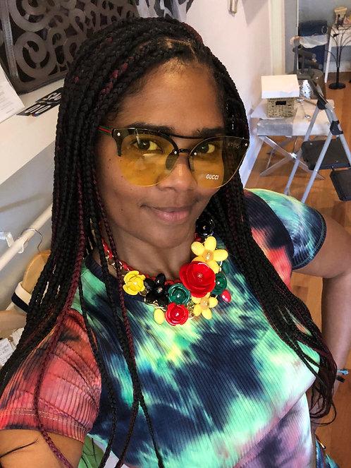 Carribean Flower necklace #205