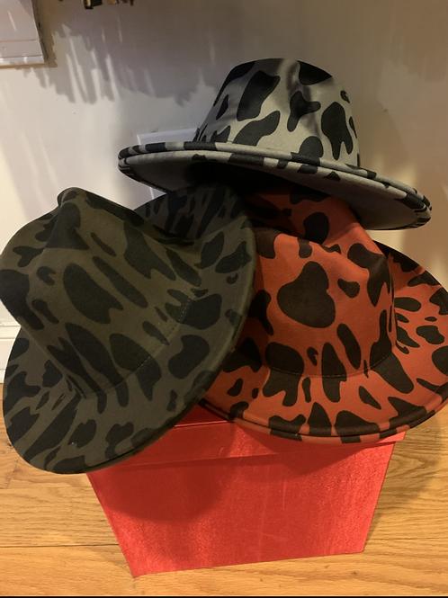 New printed Fedora hats #1