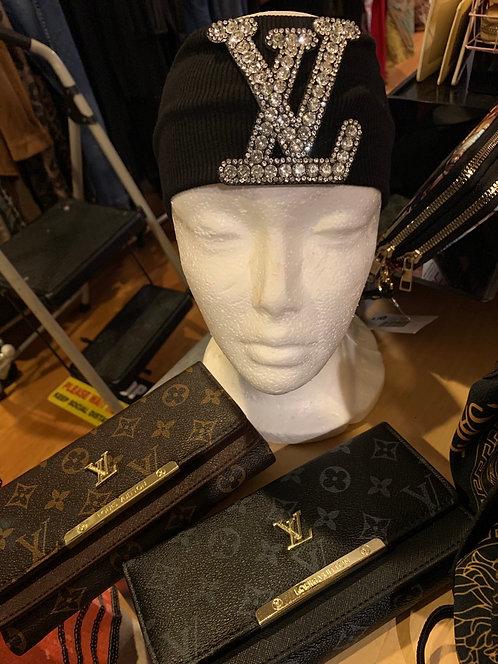 Inspired  LV  headbad