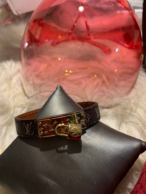 Inspired Lv bracelet