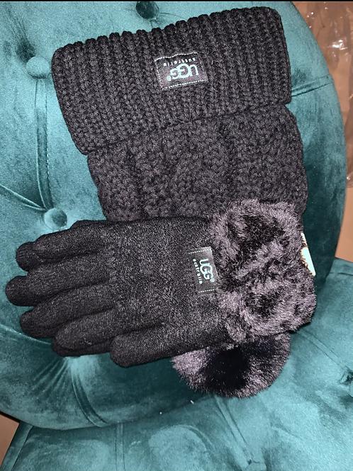 Ugg set (hat and gloves only )