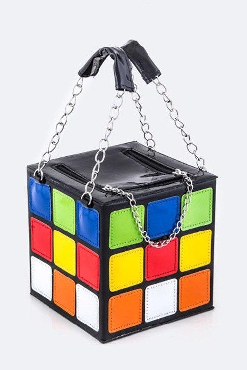 Rubic cube handbag