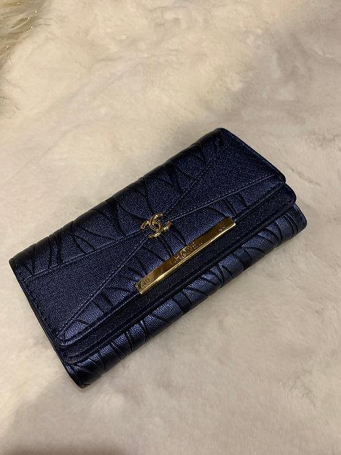navy cc wallet