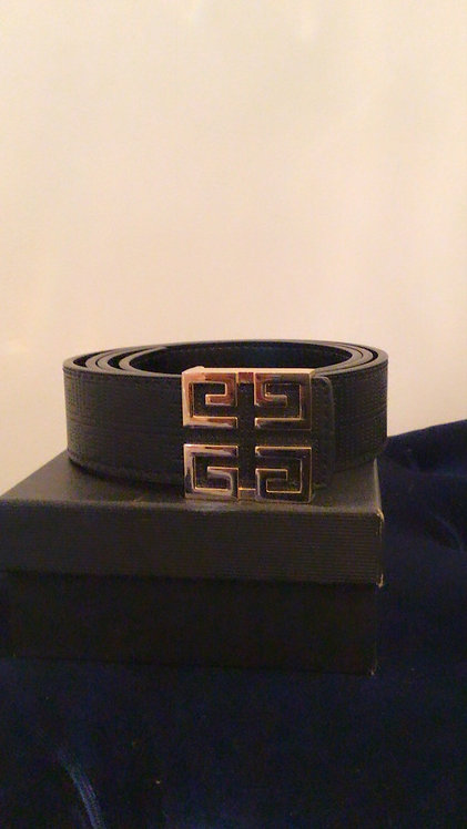 Inspired Givenchy Belt Black