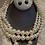 Thumbnail: Three layer  pearls npy036 off white