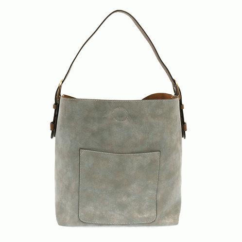 Classic Hobo handbag  Terracotta /Coffee