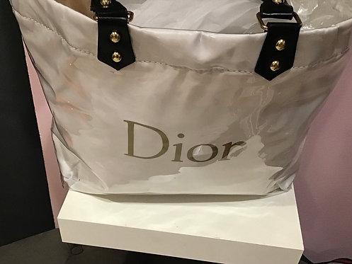 Dior Inspired plastic tote