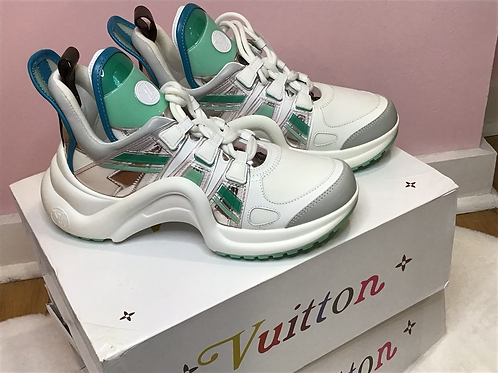 Lv Inspired Sneakers 38