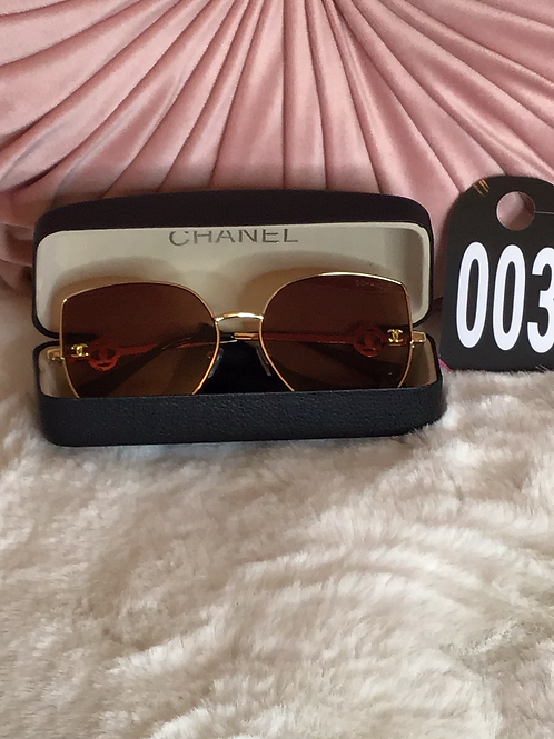 CC Brown Cat eye Sunglasses 003