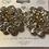 Thumbnail: Flower CZ clip earrings #25762CE