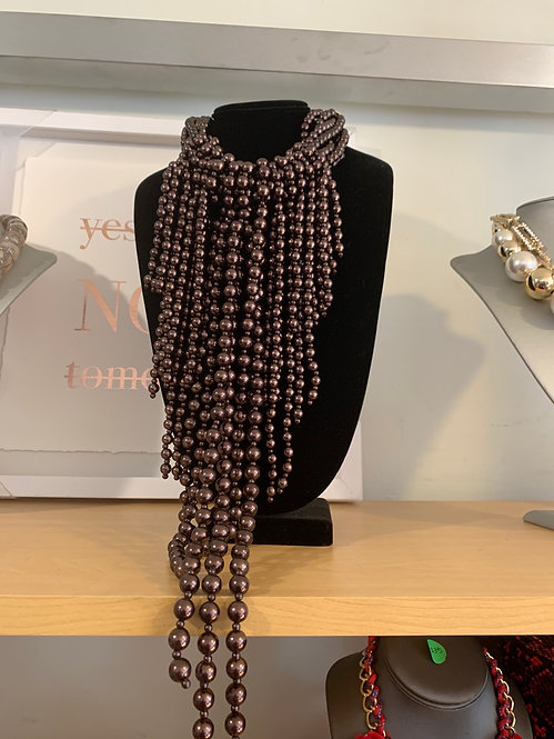 Chunky Pearl Statement set