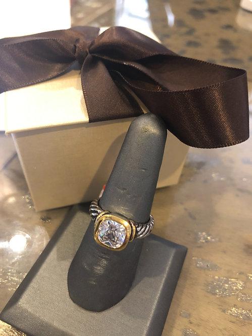 Cz Yurman style ring size 8