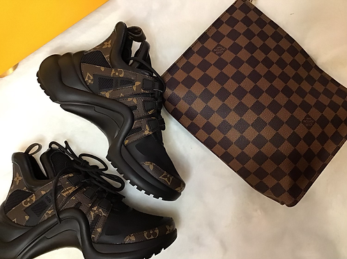 Lv Inspired Sneakers 37